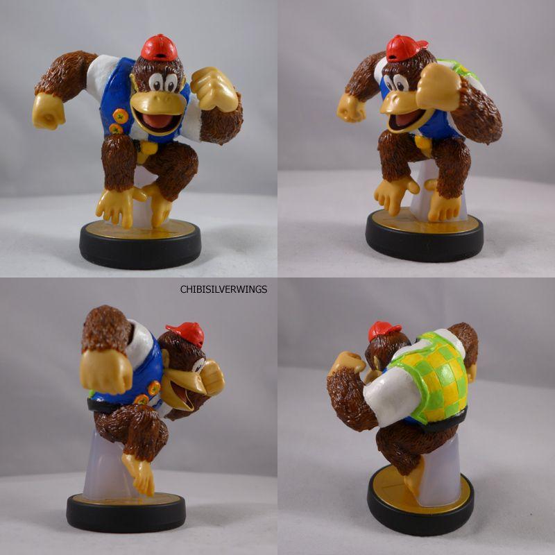 Chunky Kong Amiibo By Chibisilverwings On Deviantart Custom
