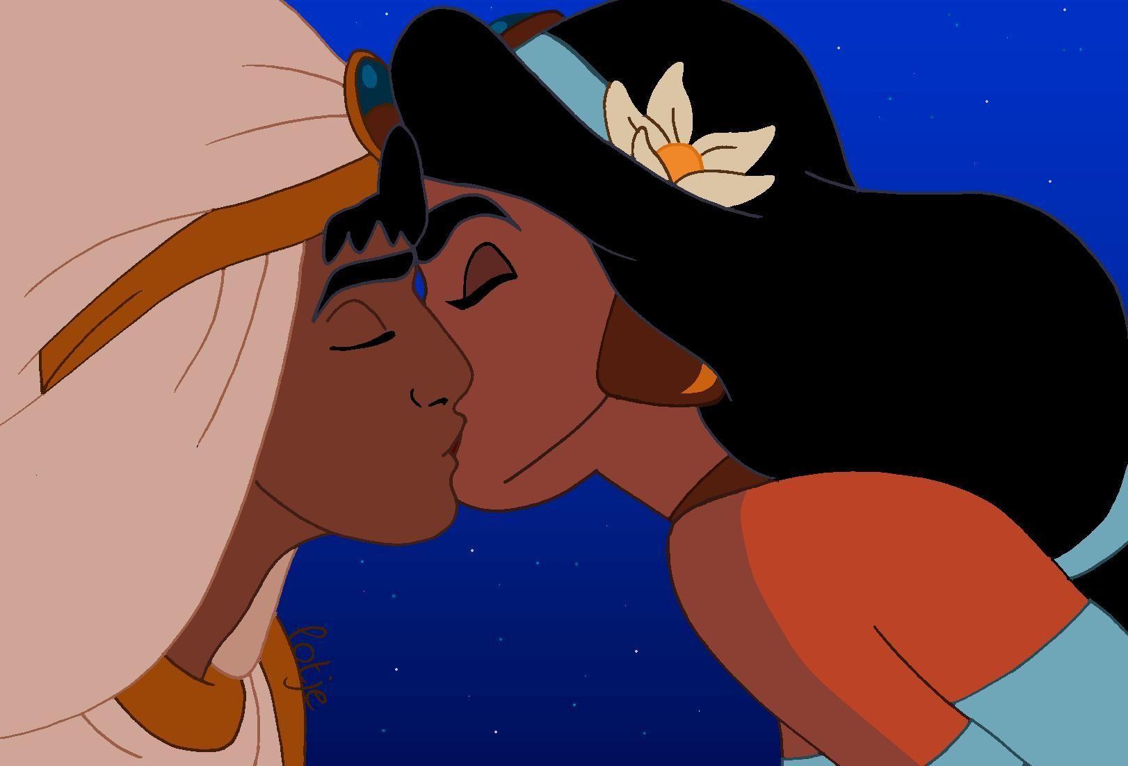 Movie 31 Aladdin Aladdin Jasmine Disney Kiss Disney Love