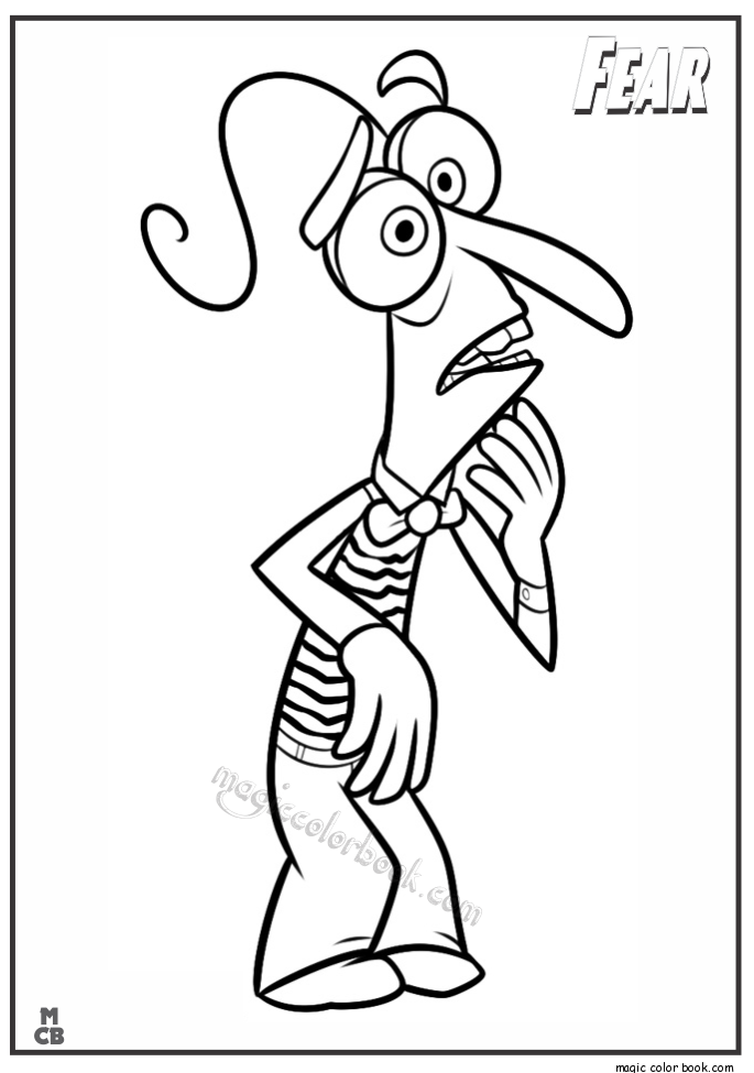 Pin by Magic Color Book on Inside Out Coloring pages free ...