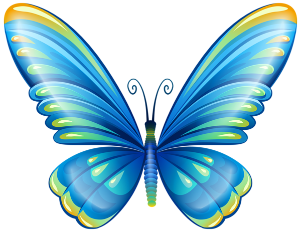 large art blue butterfly png clip art image leptiri pinterest rh pinterest com blue butterfly clipart border blue morpho butterfly clipart