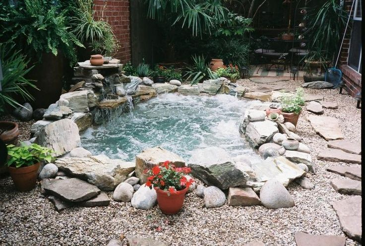 48 Awesome Garden Hot Tub Designs Digsdigs This Seems
