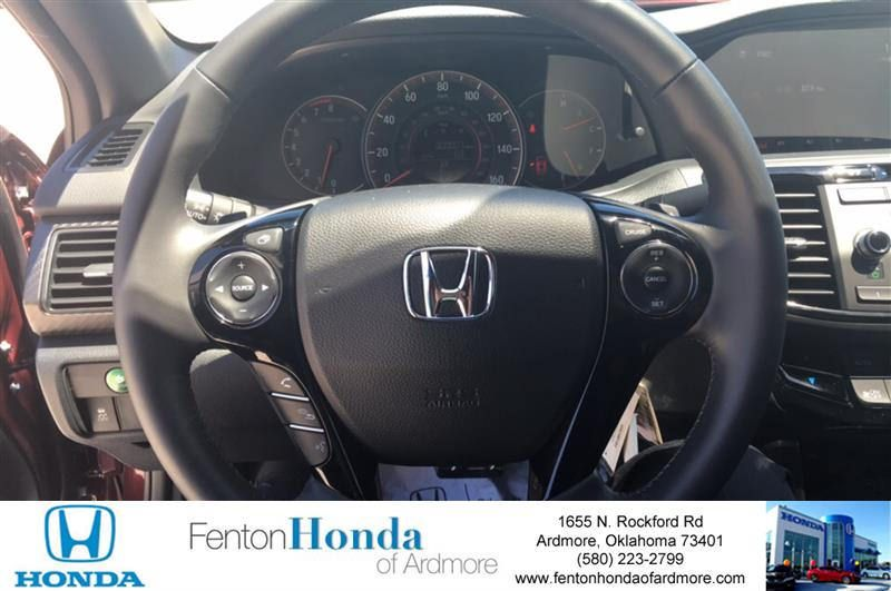 2016 Accord sport with leather trimmed seats, climate