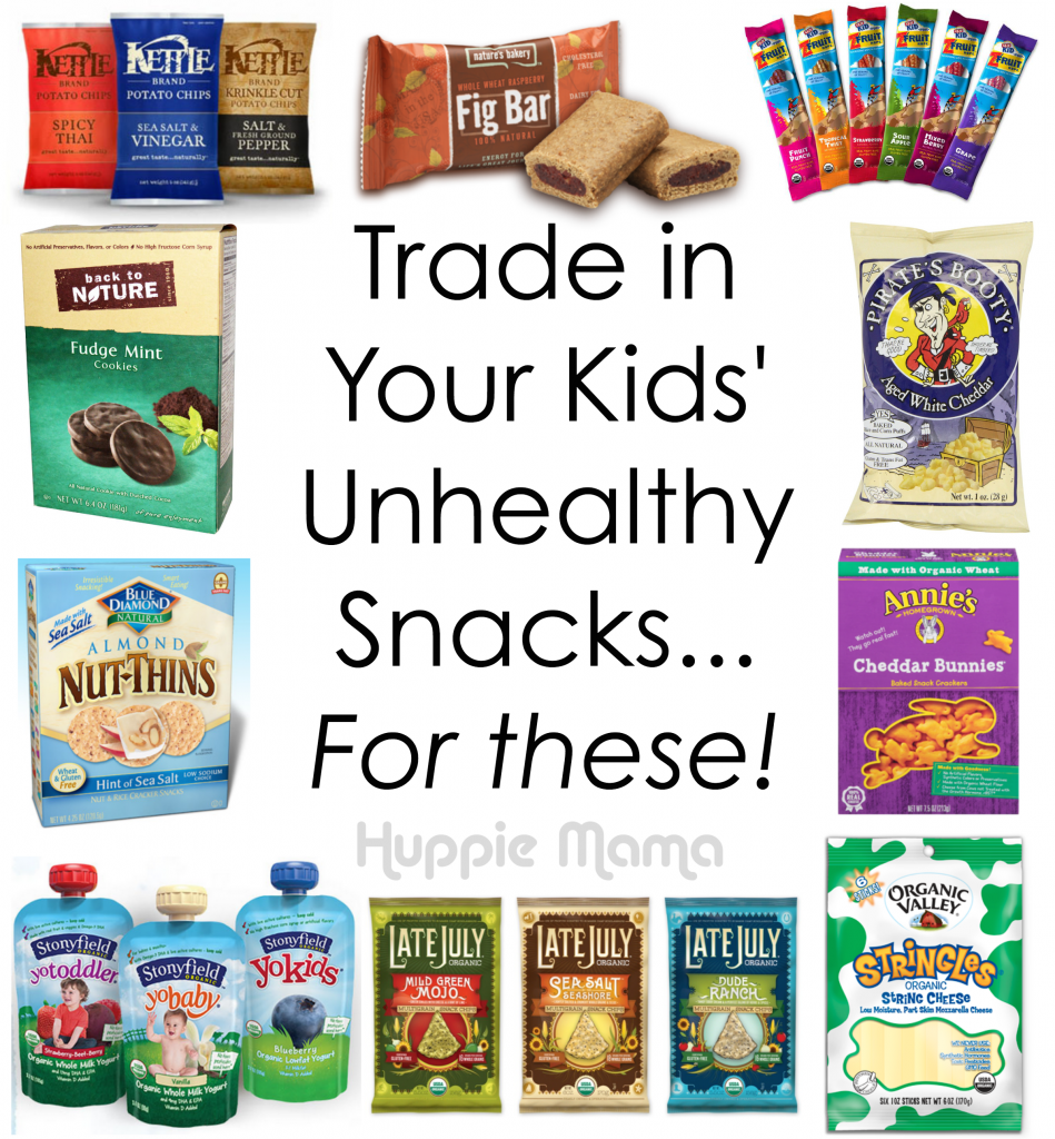 Trade in Your Kids' Unhealthy Snacks... for these healthy options ...