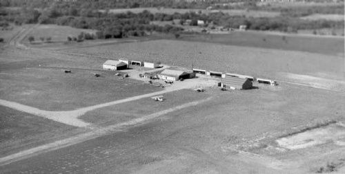 Tx Far East Dallas White Rock Airport Located Between John West And I30 Looking Northwest At The Hangars Mesquite Texas Dallas Fort Worth Texas History