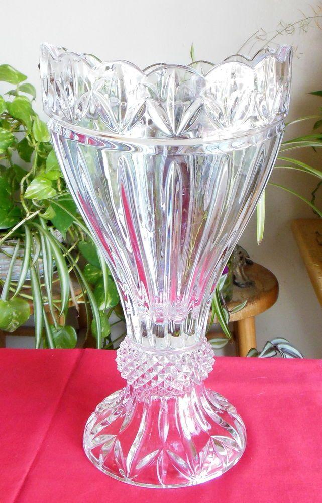 Shannon Crystal Designs Of Ireland 24 Lead Crystal Olympia Vase