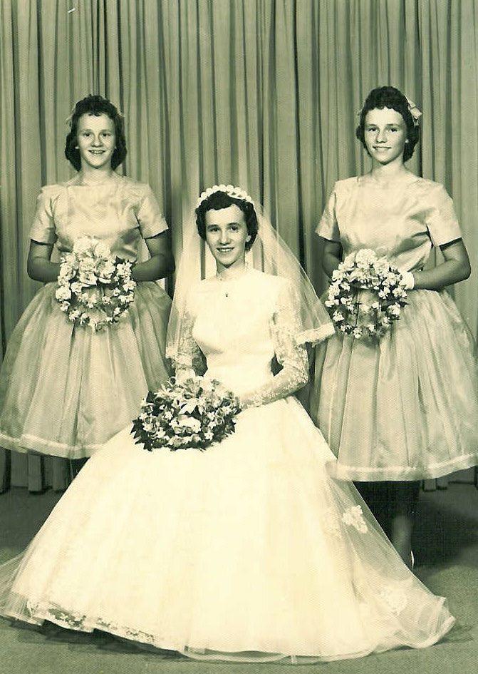 Hilda\'s wedding 1960 | Vintage | Pinterest | Hochzeitsfotos ...