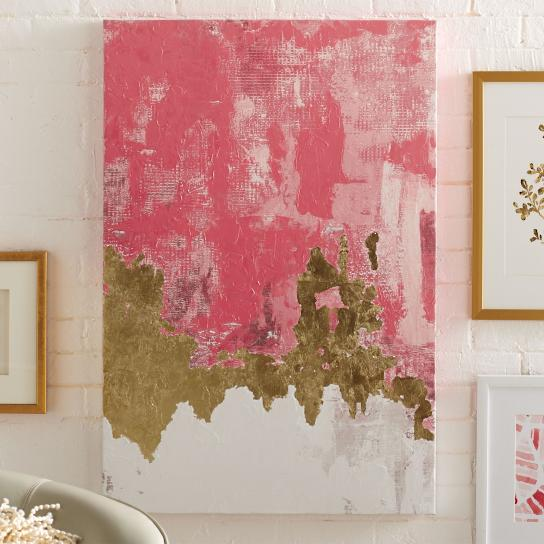 Make an Abstract Painting: Easy DIY Art!