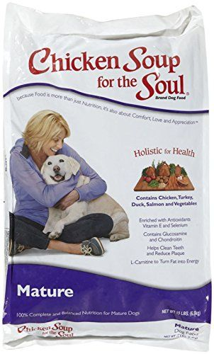 Chicken Soup for the Soul Mature Care Dog 30lb *** Read more reviews of the product by visiting the link on the image.