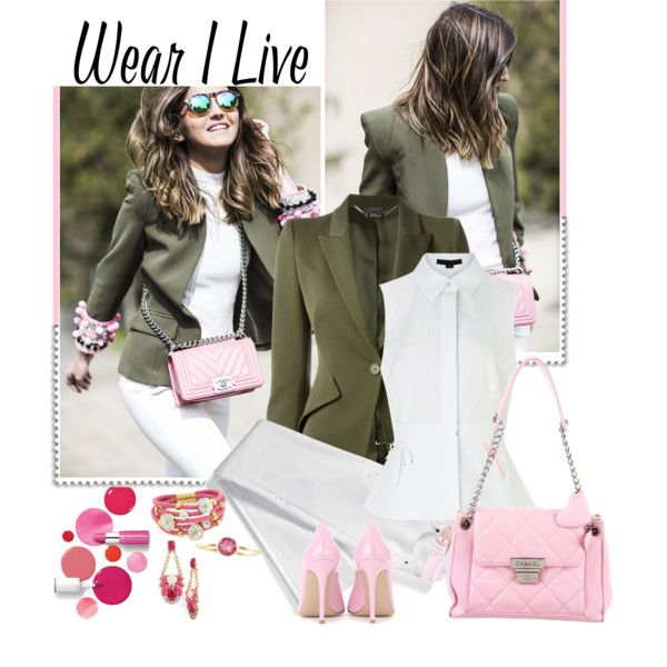 A fashion look from May 2016 by akflow featuring Alexander Wang, Alexander McQueen, Lands' End, Gianvito Rossi, Chanel, Kate Spade, Eternally Haute, Fausto Cola...