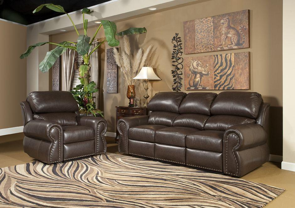 Omnia Leather Cordova Upholstered Furniture Love Seat Home Decor