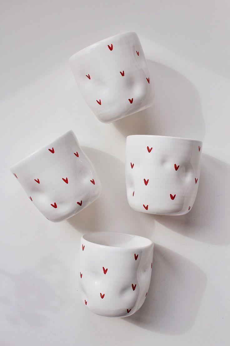 Photo of Unique pottery coffee mug, Stoneware coffee cup, Handmade tea cups, Ceramic coff…