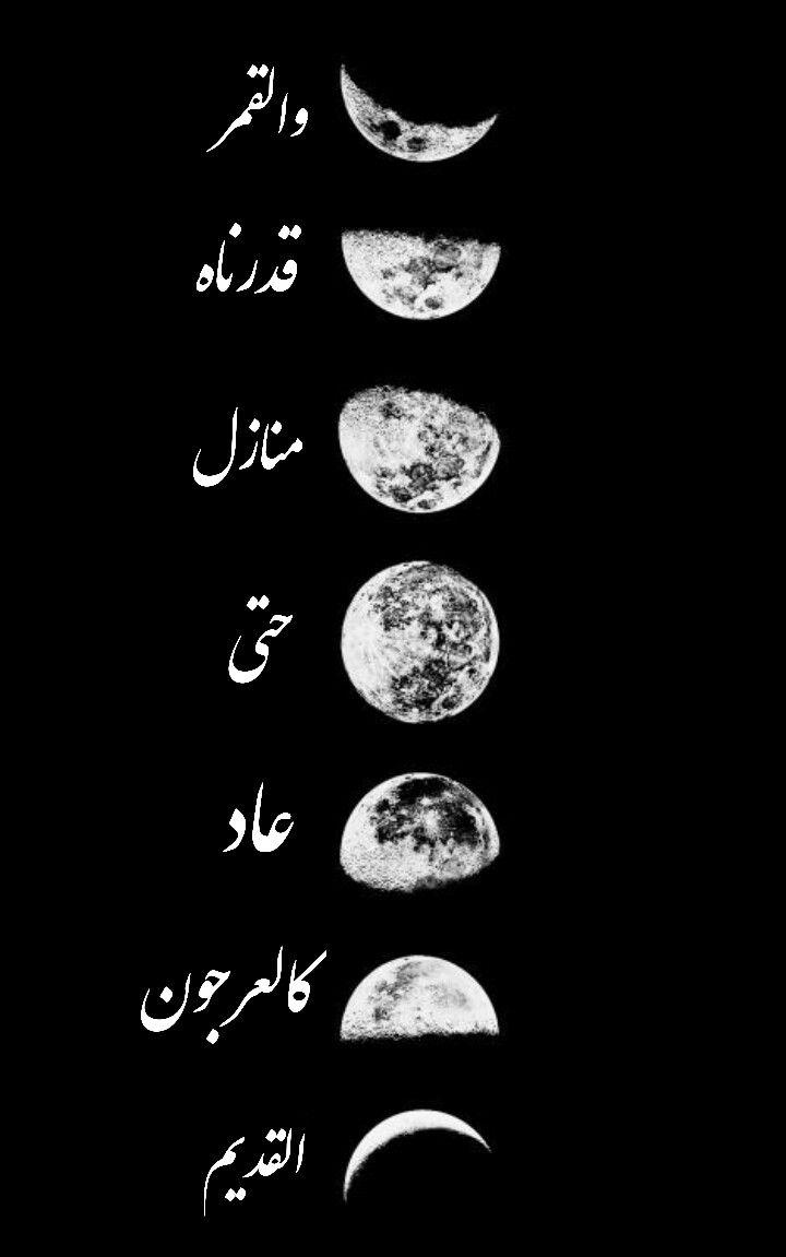 و ال ق م ر ق د ر ن اه م ن از ل ح ت ى ع اد ك ال ع ر ج ون ال ق د يم Quran Quotes Cool Words Muslim Quotes
