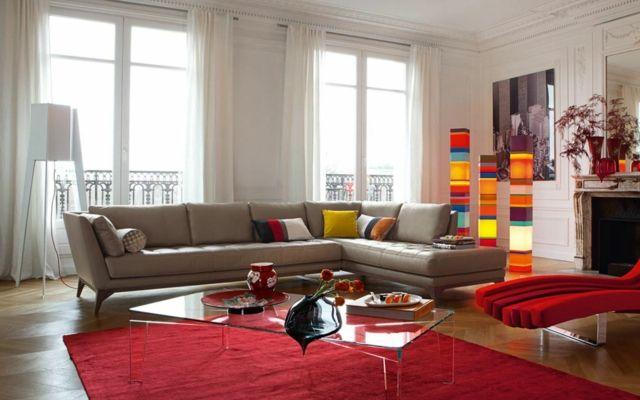 Le canapé design revisité par Roche Bobois | Couleur flashy ...