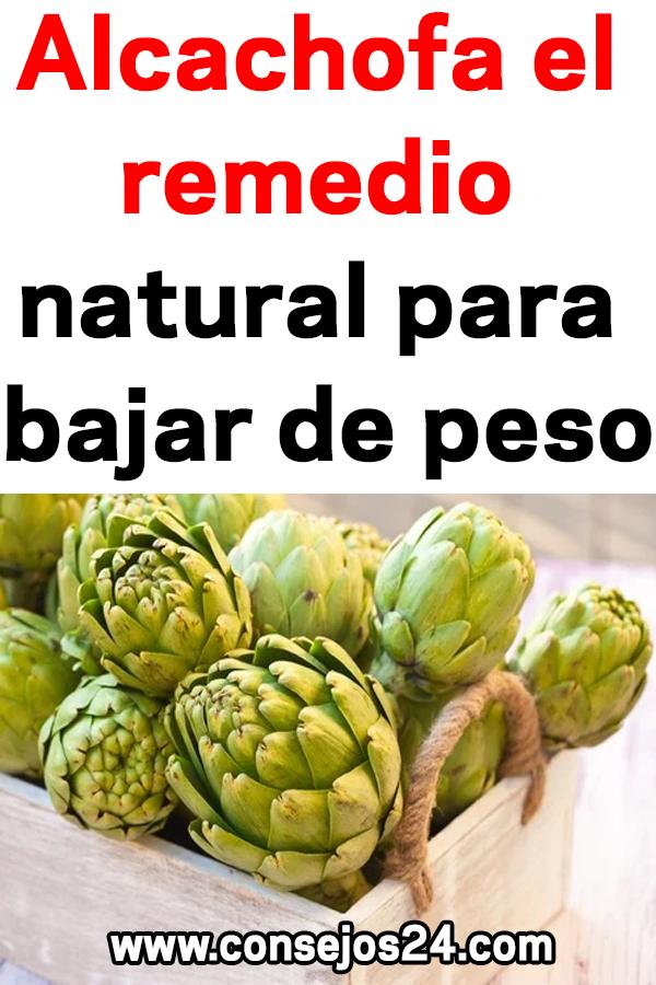 remedio para bajar de peso con alcachofa