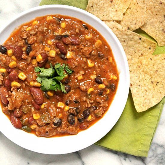 This Is By Far The Best Turkey Chili You Ll Ever Taste