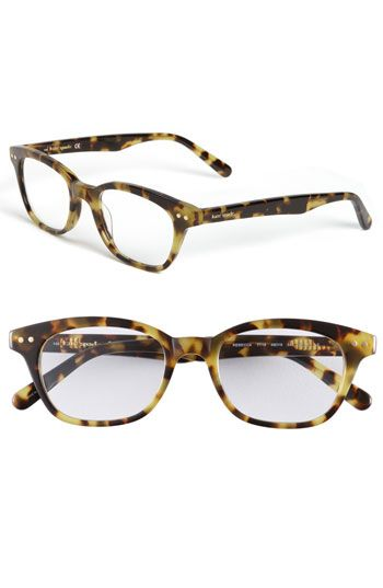 4cf30a8209c5 if i needed to wear glasses these would be my jam  katespade