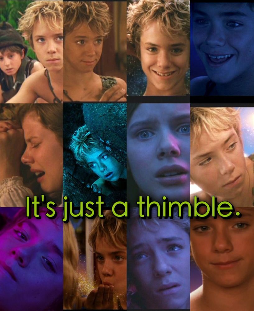 That Is No Thimble That Is A Hidden Kiss Peter Pan Movie