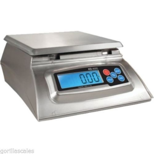 Digital Kitchen Scale My Weigh Kd 8000 Silver Culinary Cooking