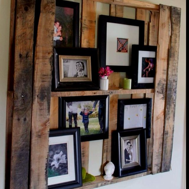 Great use of a pallet!