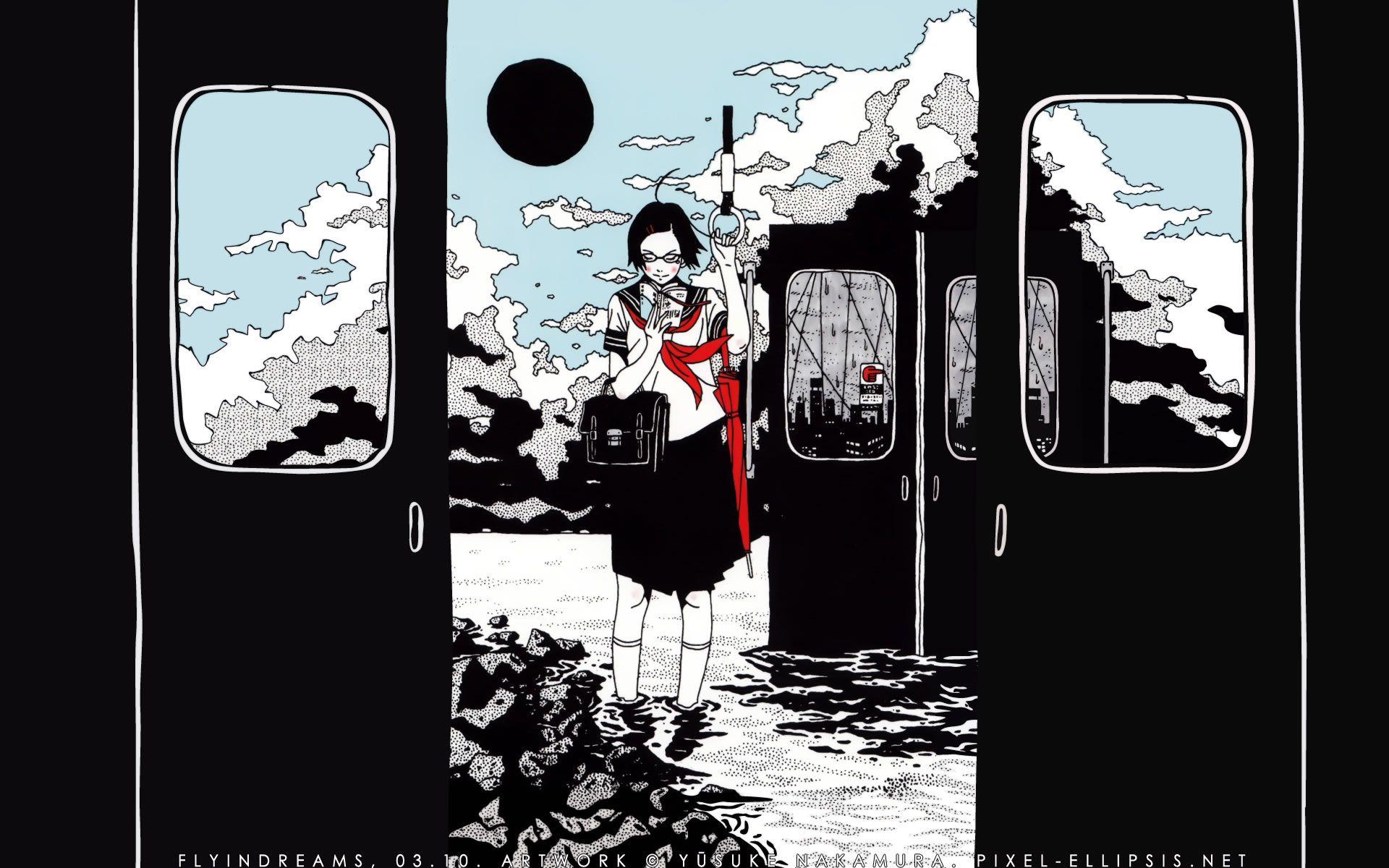 壁紙マニアクス 中村祐介の描く女性的な世界観 中村祐介 アニメの壁紙 中村佑介