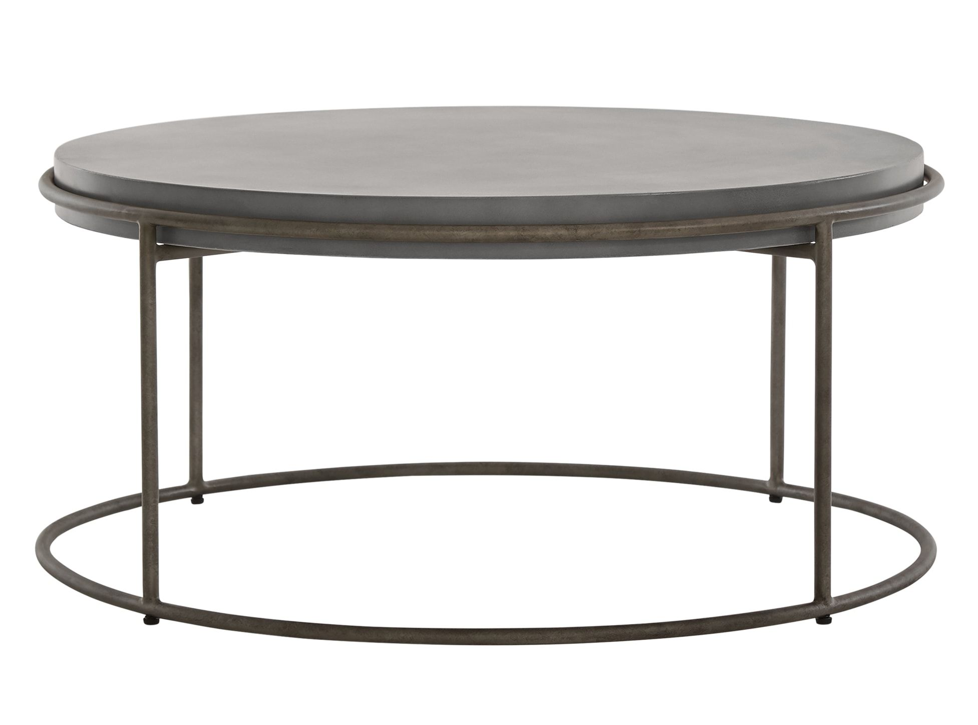 Table Basse En Beton Zurn Table Basse Ronde Béton Tahaa Round Coffee Table