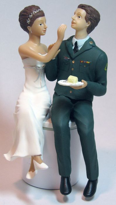 Military Wedding Cake Toppers 2 Best For