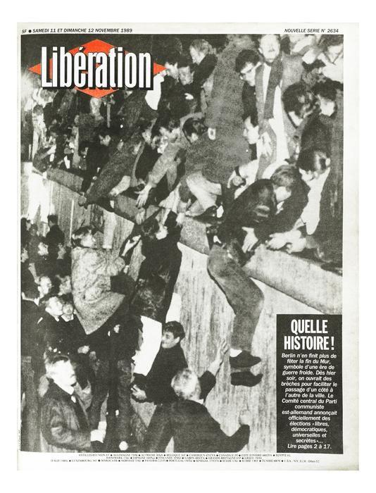 Liberation avec Photoservice.com - Chute du Mur de Berlin #murdeberlin
