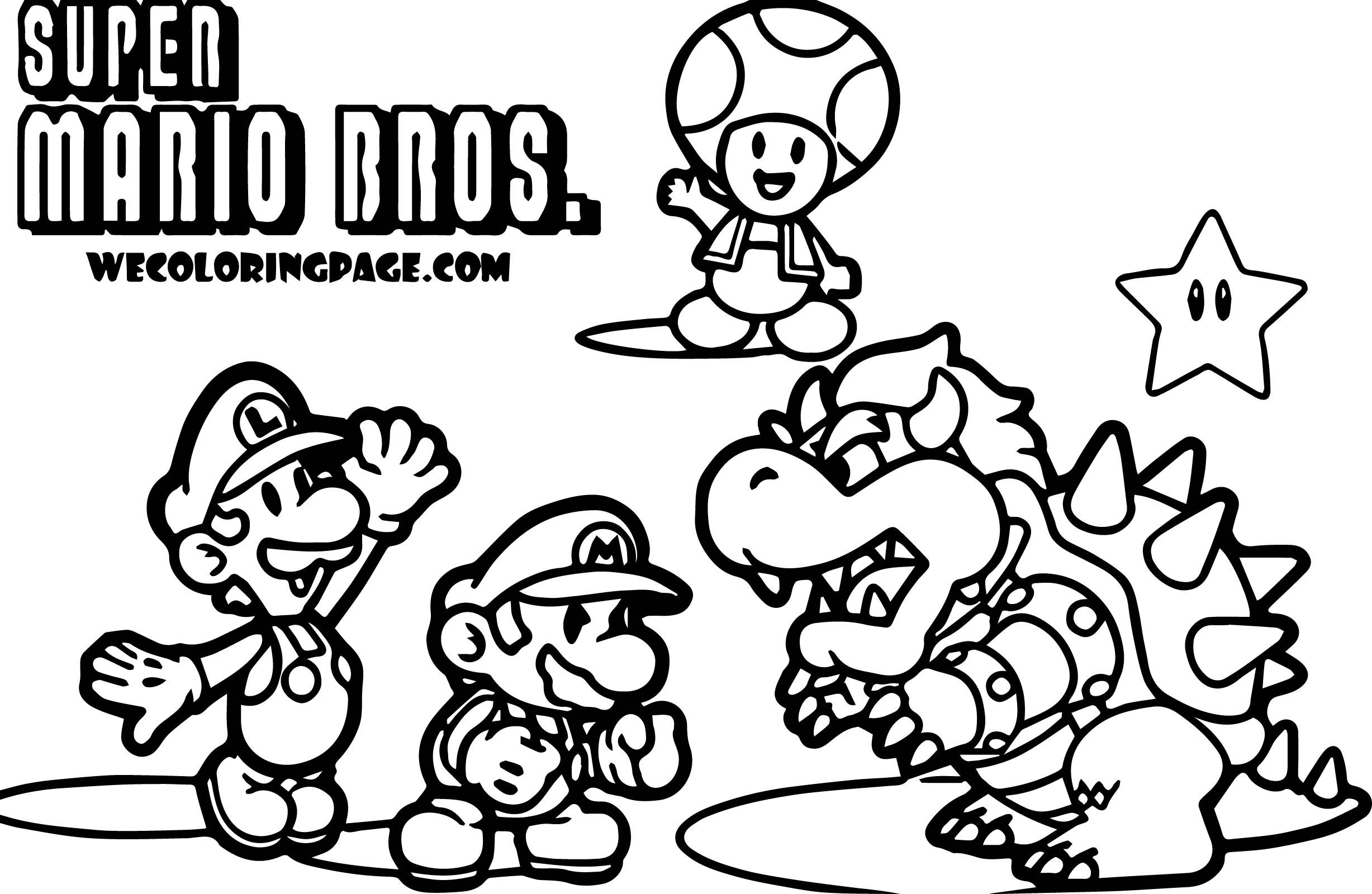 Super Mario Pack Scene Super Mario Coloring Page Super Mario Coloring Pages Mario Coloring Pages Coloring Pages