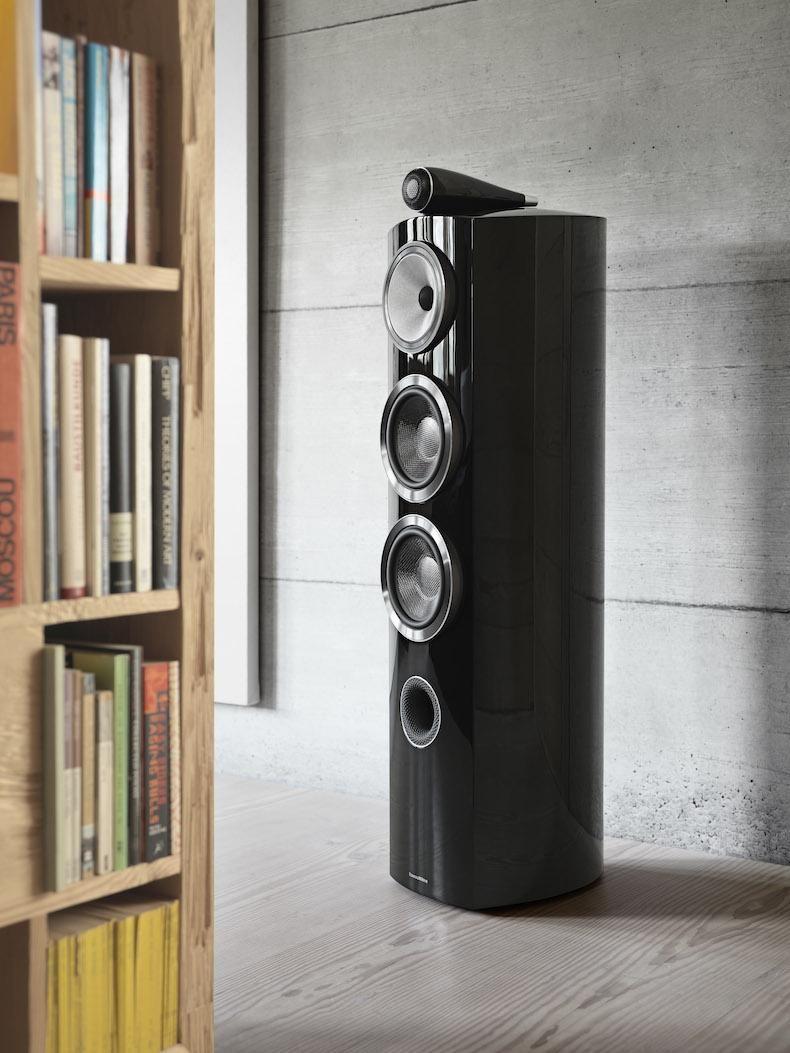 b w reveals new 800 series diamond speakers what hi fi. Black Bedroom Furniture Sets. Home Design Ideas
