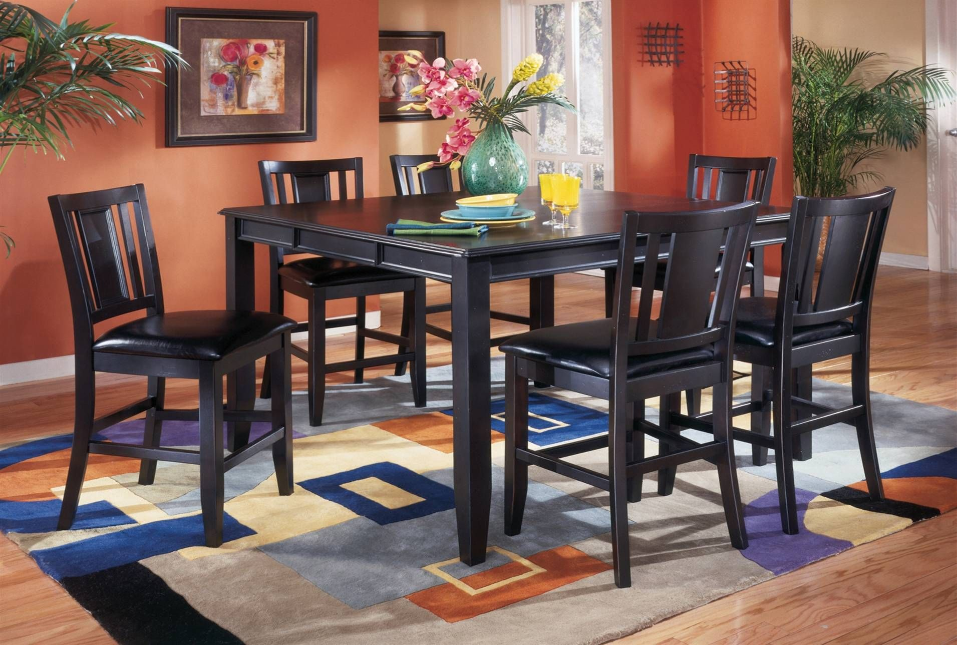 Carlyle 5 Piece Counter Set Furniture Counter Height