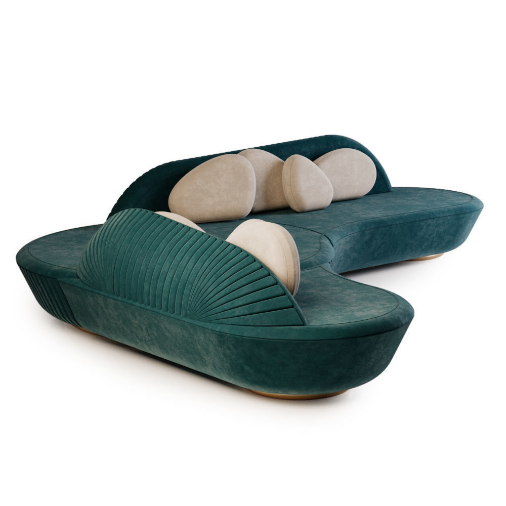 3D model Amaterasu Corner Sofa by ALMA de LUCE | CGTrader ...