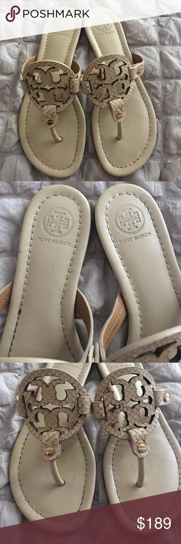 32b2456570e8 Tory Burch Dulce De Leche Miller Sandals 6.5 M Tory Burch Millers in a size  6.5