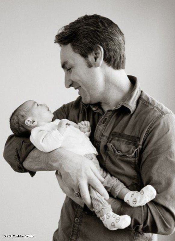 mike wolfe american pickers and his baby girl charlie congrats to you and your wife i. Black Bedroom Furniture Sets. Home Design Ideas