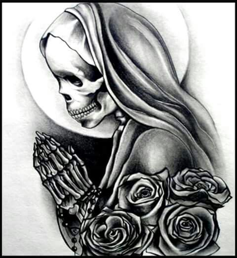 Pin by Loredana Grippa on Skulls*+* | Skull tattoo design