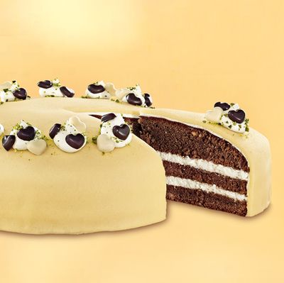 39 gef llte schoko marzipan torte 39 salihs geburtstag pinterest. Black Bedroom Furniture Sets. Home Design Ideas