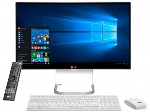 "Computador All in One LG 24V550-G Intel Core i5 - 4GB 500GB Tela LCD 23,8"" c/ TV Digital Windows 10"