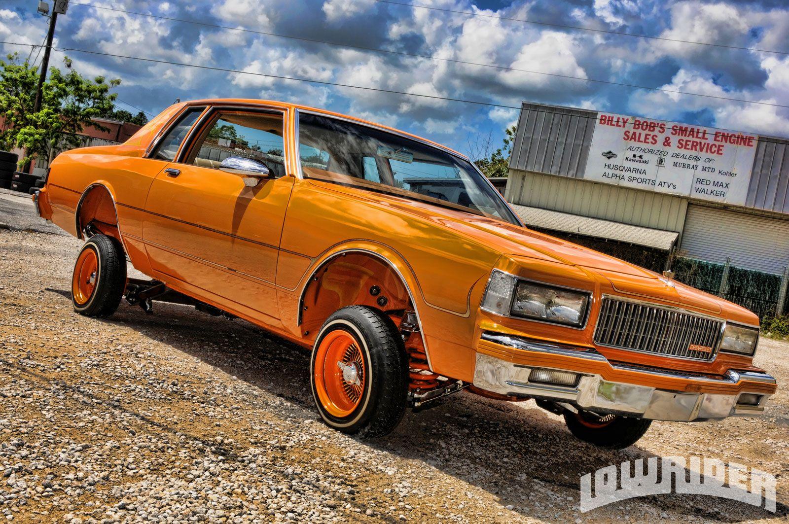 All Chevy chevy caprice 1985 : Orange 1985 Caprice Lowrider | Chevrolet Box Wheelzz | Pinterest ...
