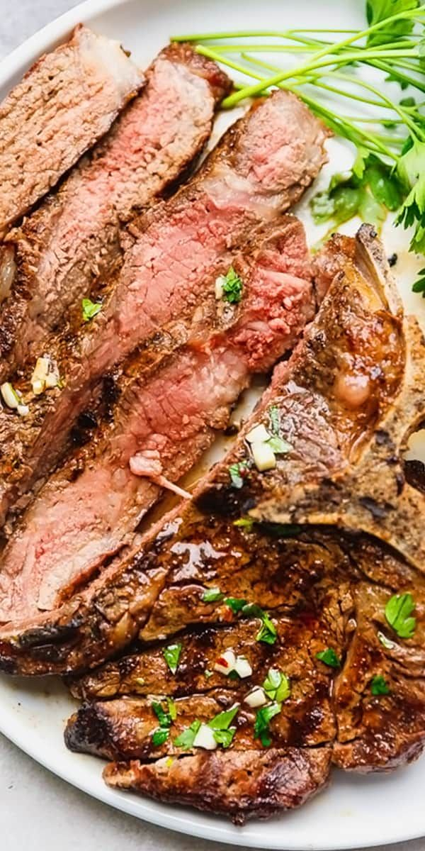 Grilled T Bone Steak Recipe - learn how to season and cook juicy and flavorful T Bone Steak on ...