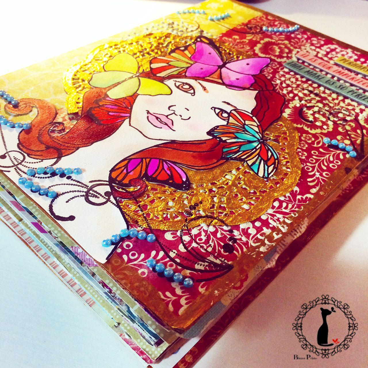 Scrapbook ideas tutorial - Photo Album Tutorial Scrapbook Photo Album Ideas With Artjournal Mixedmedia And Smashbook Techniques