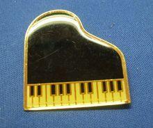 Grand Piano Pin Top Keyboard Enamel