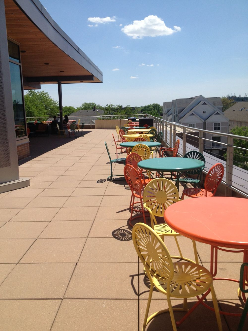 Union south, UW Madison Outdoor tables, Outdoor, Outdoor