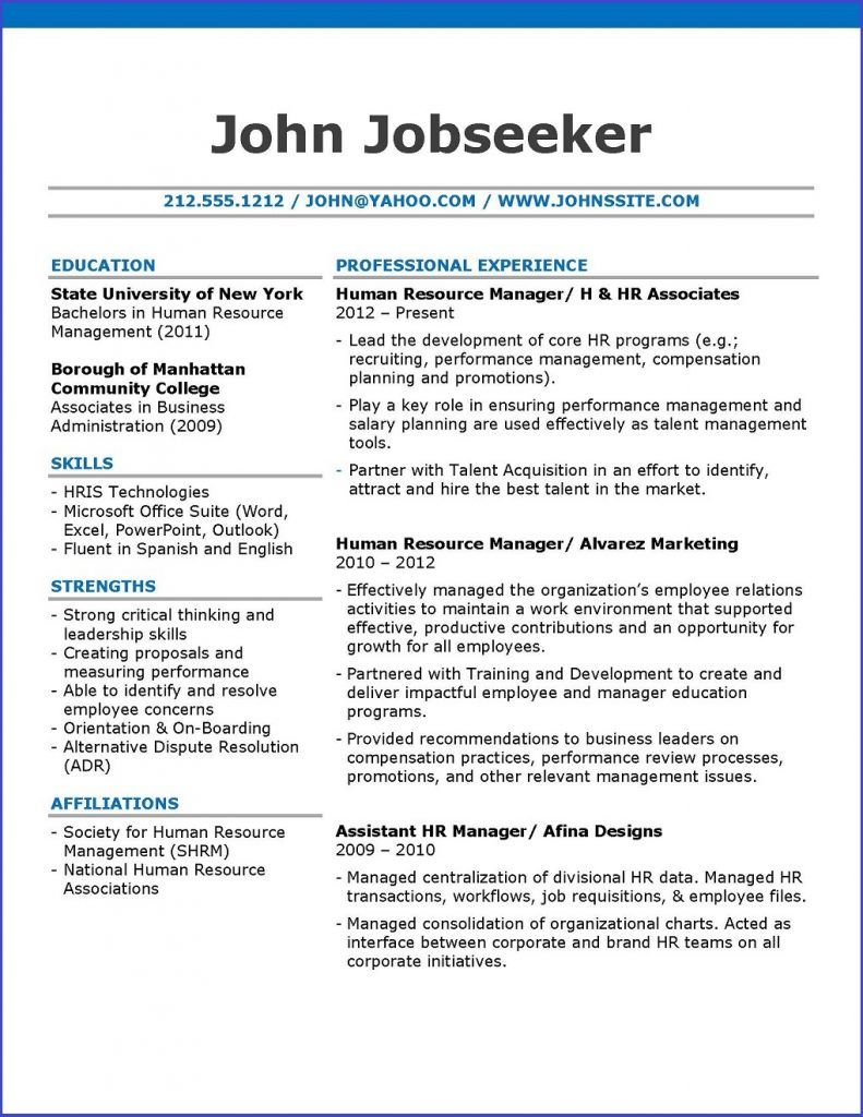 Stripe Resume Template  Resume Downloads  Creative Resume Design