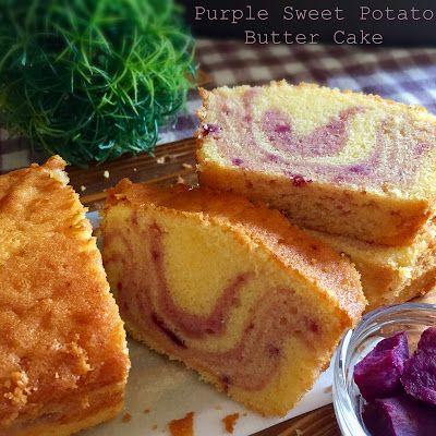 My Mind Patch: Purple Sweet Potato Butter Cake 紫薯牛油蛋糕