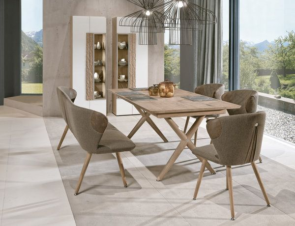 V Alpin 2018 Collection Addition Kitchen Interior Design Decor Furniture Wooden Dining Chairs