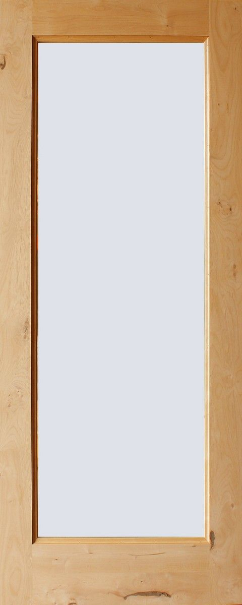 Exterior Knotty Alder French Door Full Lite 34insulated Glass
