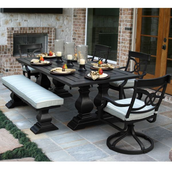 San Dimas Dining Collection By Foremost Veranda Classics Cast