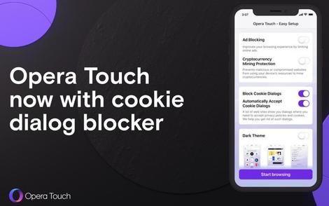 Opera Touch per iOS consente agli utenti di bloccare