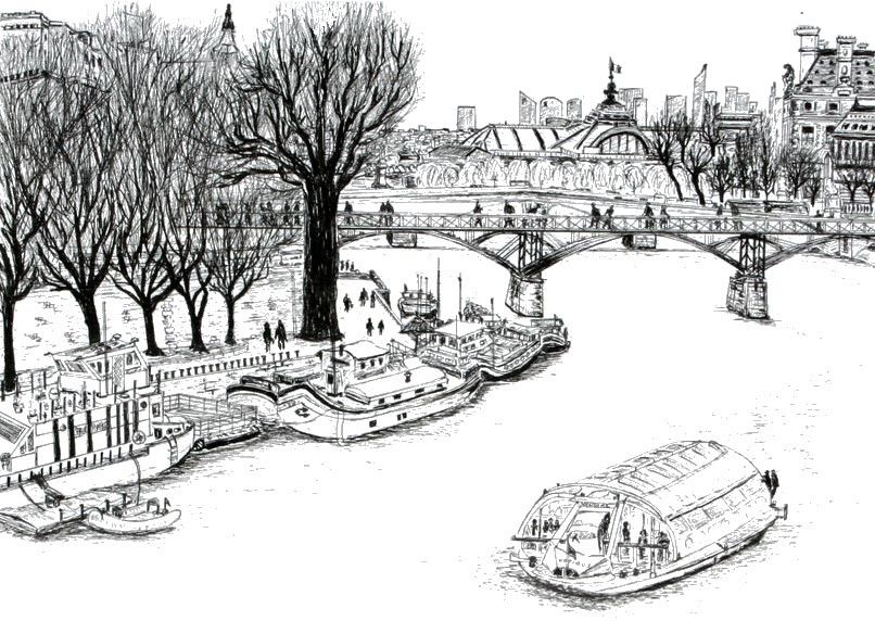 Epingle Sur Coloriages Adultes Paris