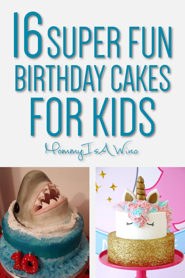 Cool 16 Brilliant Birthday Cakes For Kids With Images Birthday Cake Funny Birthday Cards Online Necthendildamsfinfo