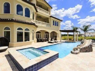 Reunion Villa Rental 12 Bed Huge Pool Putting Green Cinema Games Room Waterslide 6 Miles Disney Homeaway L Florida Villas Vacation Home Luxury Rentals